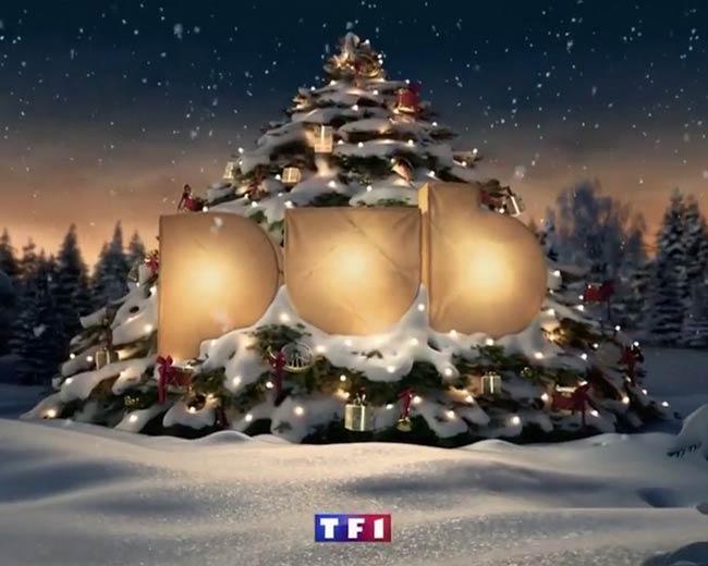 TF1 : Jingles Noël