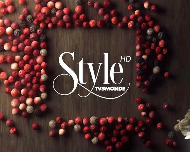 TV5 STYLE – Habillage de la chaîne