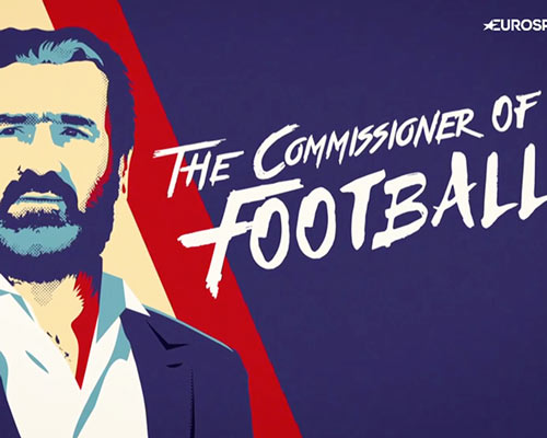 Cantona The Commissioner of Football – Eurosport